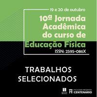 Trabalhos selecionados Jornada Ed Físia 2020