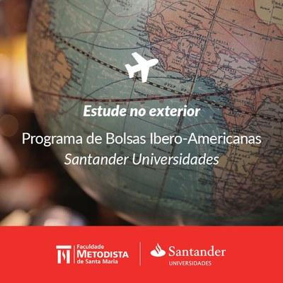 Programa de Bolsas Ibero-Americanas do Santander está com inscrições abertas
