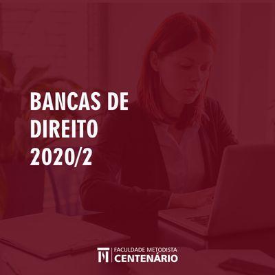 Curso de Direito divulga as datas das bancas de TCC e avaliação de Projeto de Pesquisa