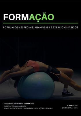 Curso de Educação Física desenvolve material com anamneses e exercícios físicos para Populações Especiais