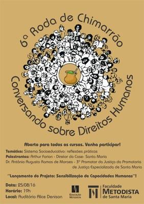 6º Roda de Chimarrão irá refletir o sistema socioeducativo