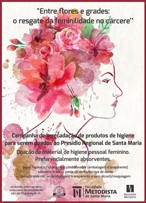 Campanha da FAMES arrecada materiais de higiene para detentas do Presídio Regional de Santa Maria