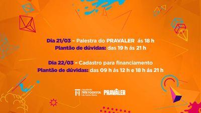 Crédito Universitário PraValer promove palestra e plantão de dúvidas