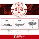 Curso de Direito promove 1ª edição da Semana de Carreiras Jurídicas