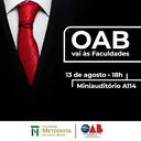 Curso de Direito promove palestra em comemoração ao Dia do Advogado
