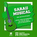 Curso de Direito realiza Sarau Musical na próxima segunda