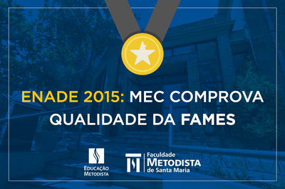 Cursos da Fames são bem avaliados em conceitos do MEC