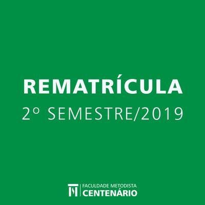 Divulgado o período de rematrículas e os horários dos cursos de graduação 2019/2