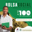 Faculdade Centenário oferece bolsas de estudos de até 100% para cursos EAD