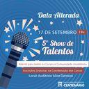 Faculdade Centenário promove Show de Talentos em 17 de setembro