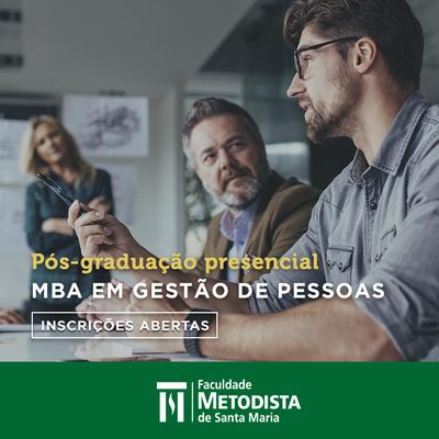 Inscrições abertas para curso de MBA em Gestão de Pessoas
