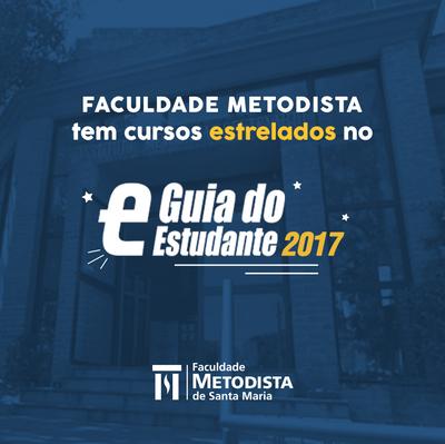 Faculdade Metodista tem cursos de graduação estrelados no Guia do Estudante