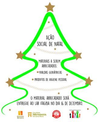 FAMES arrecada doações para Ação Social de Natal