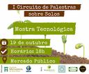 """Mostra Tecnológica do """"I Circuito de palestras sobre solos"""" será nesta sexta"""