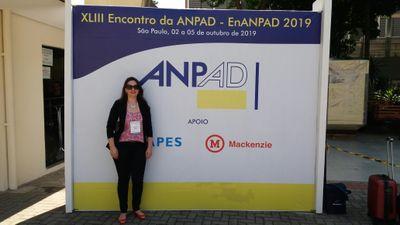 Professora da FMC participou do XLIII EnANPAD