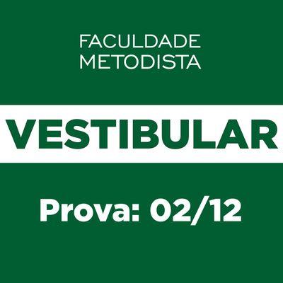 Vestibular 2019 da Faculdade Metodista ocorre no dia 2 de dezembro