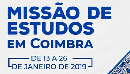 Bolsas são válidas para a Universidade de Coimbra em parceria com a instituição