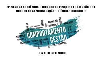3ª Semana Acadêmica e Jornada de Pesquisa e Extensão de Administração e Ciências Contábeis