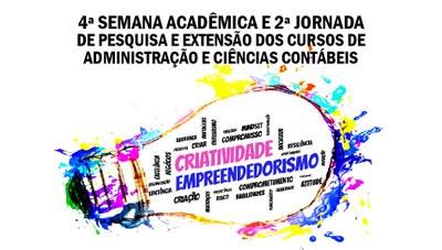 """Evento de Administração e Ciências Contábeis debate """"Criatividade e empreendedorismo"""""""