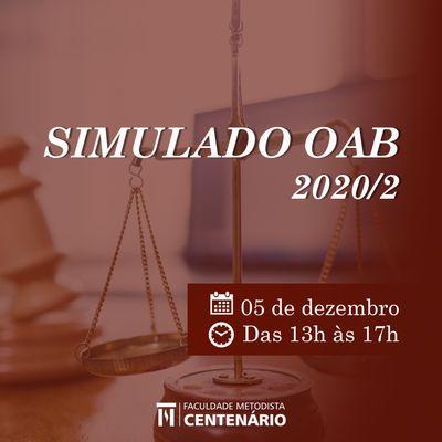 Simulado on-line da OAB será realizado pelos acadêmicos de Direito