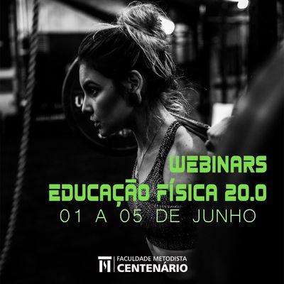 Webinars Educação Física 20.0 será realizado em junho